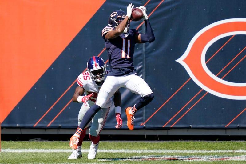 Trubisky 2 TD passes, Barkley hurt as Bears edge Giants