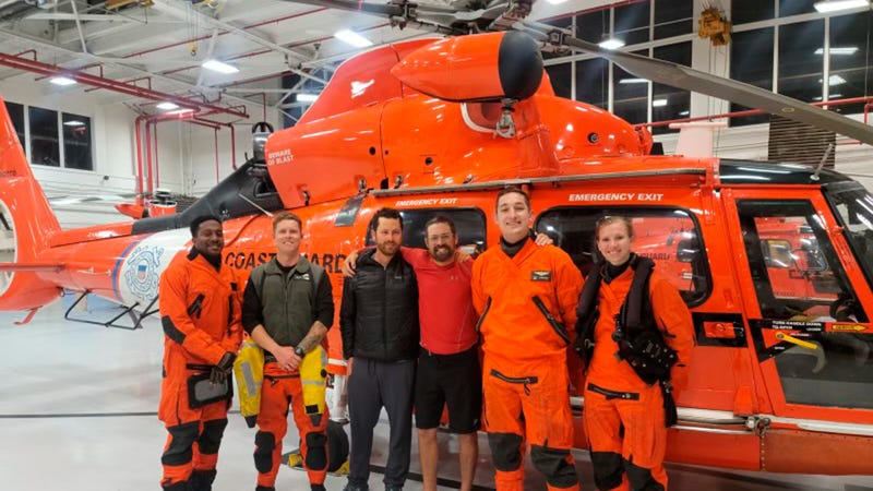 Hawaii-bound kayaker rescued by Coast Guard off California