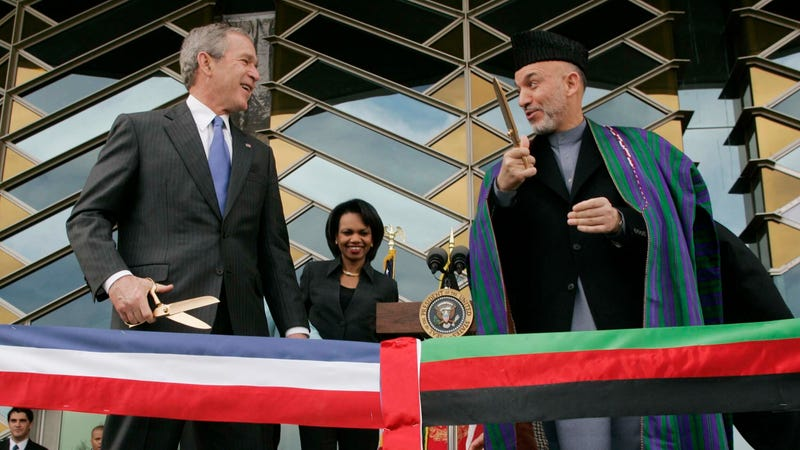 George W. Bush criticizes U.S. withdrawal from Afghanistan