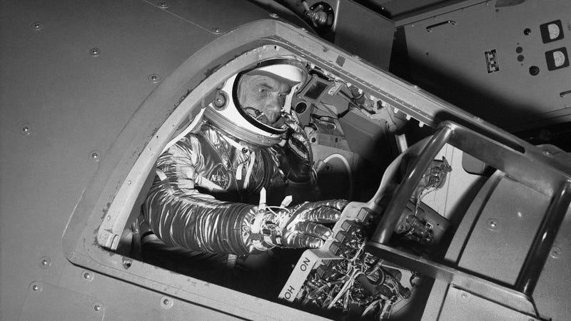 Centennial of ex-astronaut, military vet John Glenn marked