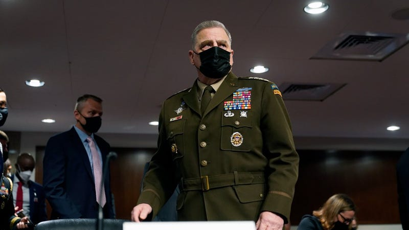 Gen. Milley defends calls to Chinese at end of Trump presidency
