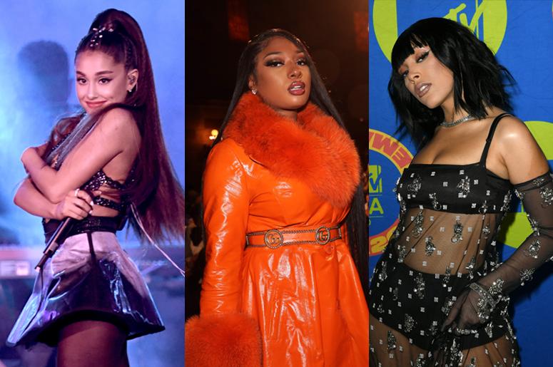 Ariana Grande, Megan Thee Stallion and Doja Cat