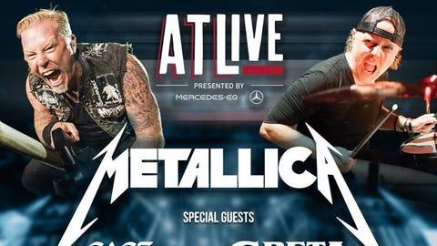 ATL Live Ft. Metallica, Cage The Elephant & Greta Van Fleet