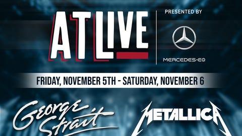 ATLive with Metallica, Cage The Elephant, and Greta Van Fleet
