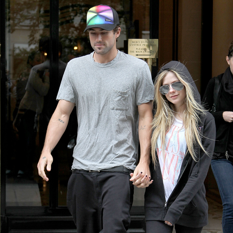 Avril Lavigne and Brody Jenner