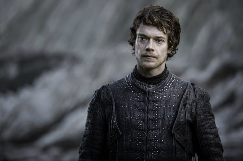 Theon Greyjoy on 'Game Of Thrones'