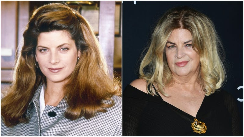 "Kristie Alley on ""Cheers"" and at the premiere of ""The Fanatic"""