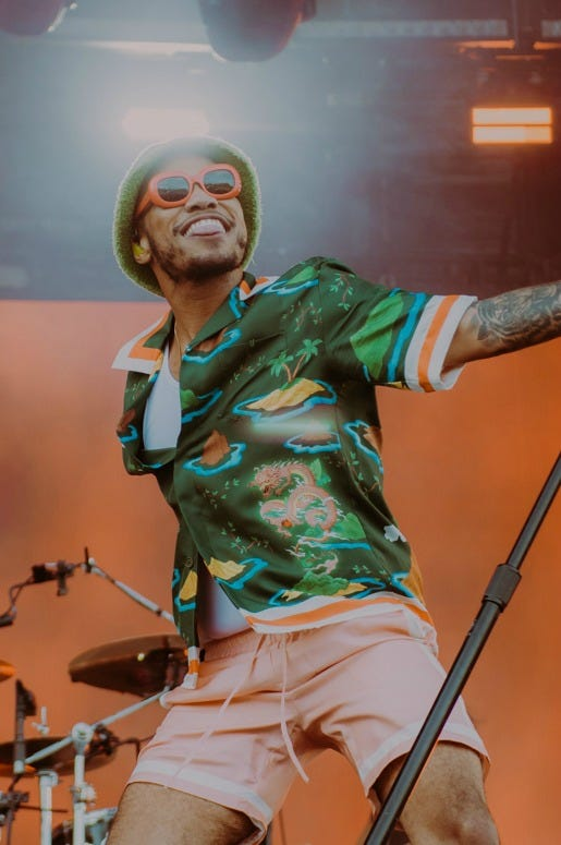 Anderson .Paak performs at 'Made In America'