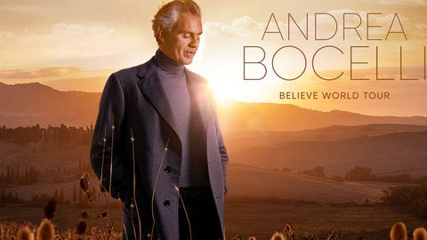 Andrea Bocelli at Rocket Mortgage Fieldhouse