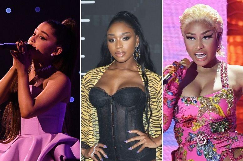 Ariana Grande, Normani, and Nicki Minaj