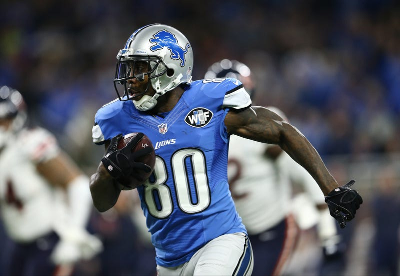 WR Anquan Boldin runs downfield in a 2016 game.