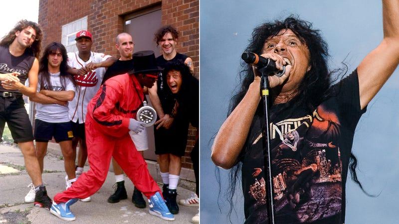 Anthrax with Public Enemy, singer Joey Belladonna