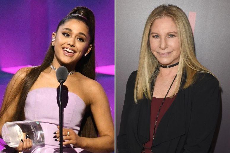 Ariana Grande and Barbara Streisand Perform a Surprise Duet