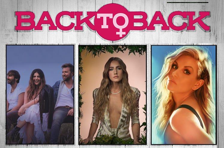 Back To Back: Lady A, Ingrid Andress, Lindsay Ell