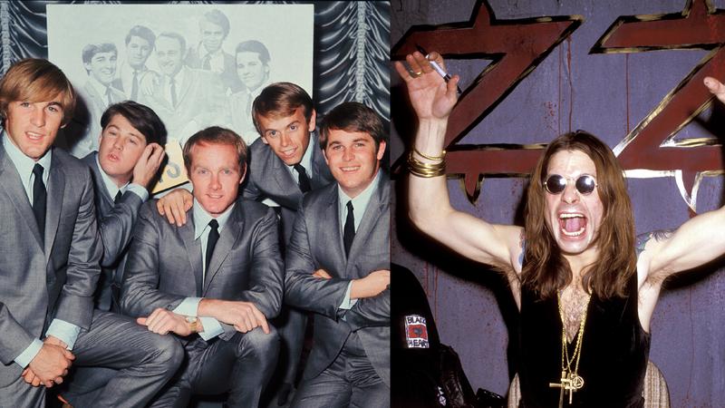 The Beach Boys and Ozzy Osbourne