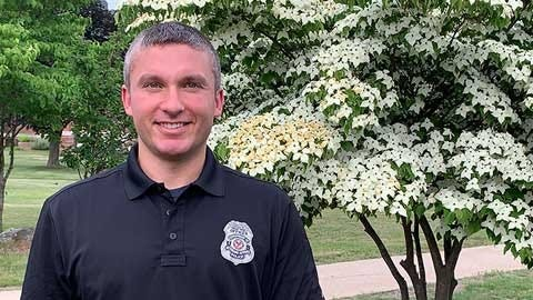 Veterans Affairs police officer saves a life