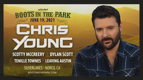 Boots In The Park - Chris Young