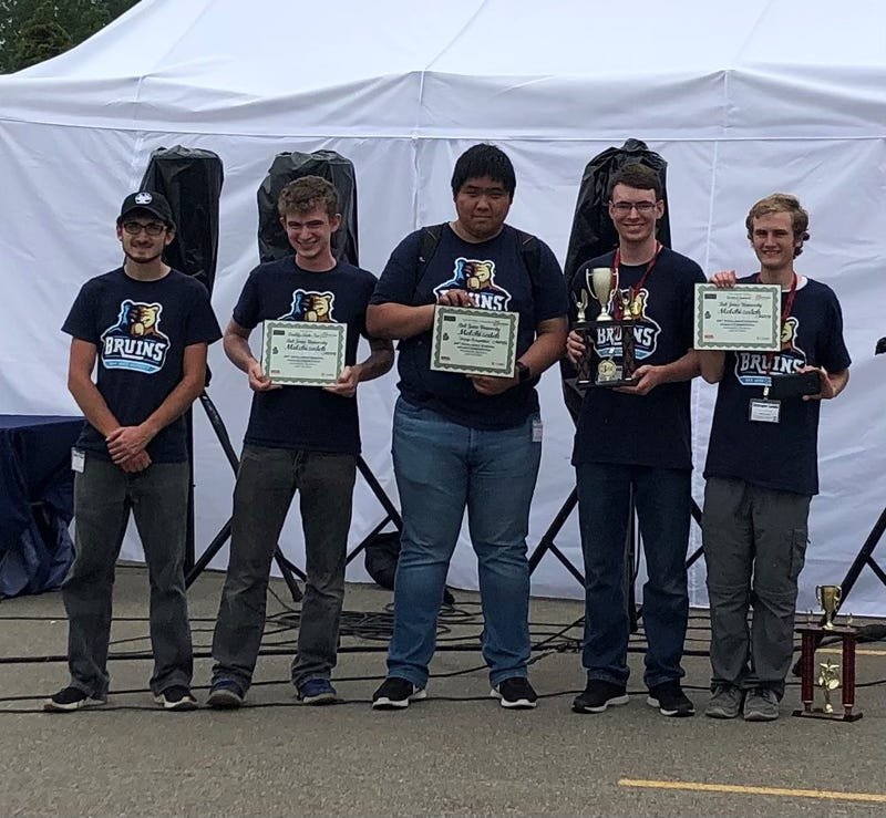 Team members that traveled to the competition include Erick Ross, Daniel Zhuang, Peter Labadorf, Joshua Heinrich, Isaiah Pinter, and Christopher Zuehlke. Dr. Bill Lovegrove served as the faculty sponsor.