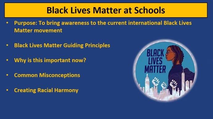 Black Lives Matter at schools