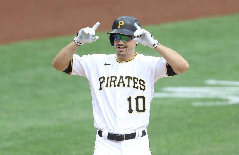 Pirates outfielder Brian Reynolds