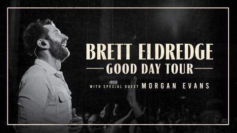 Brett Eldredge with Morgan Evans