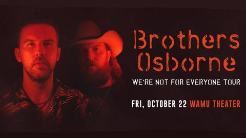 Brothers Osborne - The We're Not For Everyone Tour