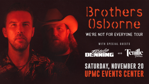 """Brothers Osbourne: """"We're Not For Everyone"""" Tour"""