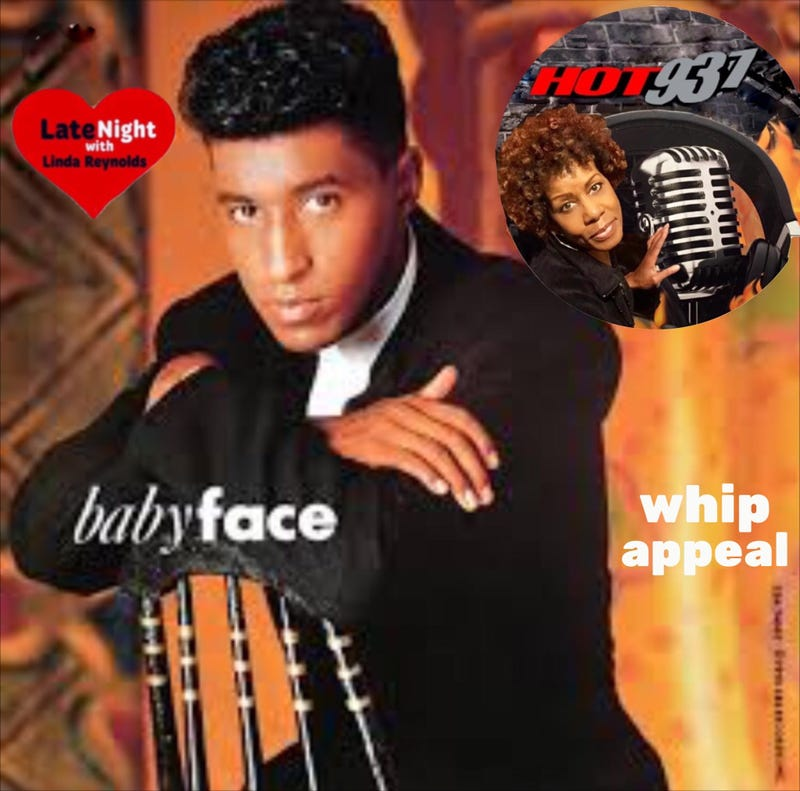 Babyface Whip Appeal begins Hot 93.7 Late Night Love