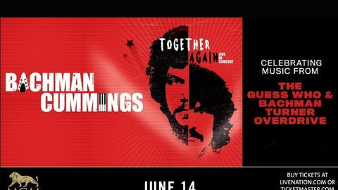 Randy Bachman and Burton Cummings: Together Again