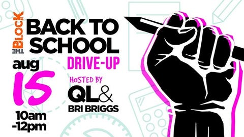 Back To School Drive-Up