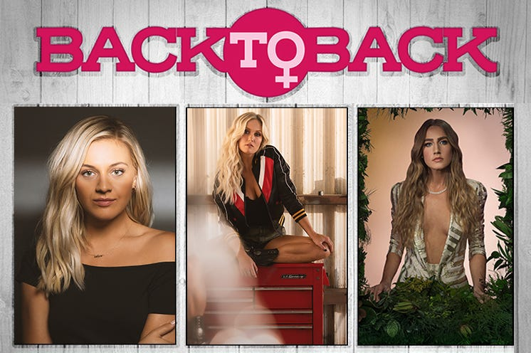 Back To Back: Kelsea Ballerini, Meghan Patrick, and Ingrid Andress