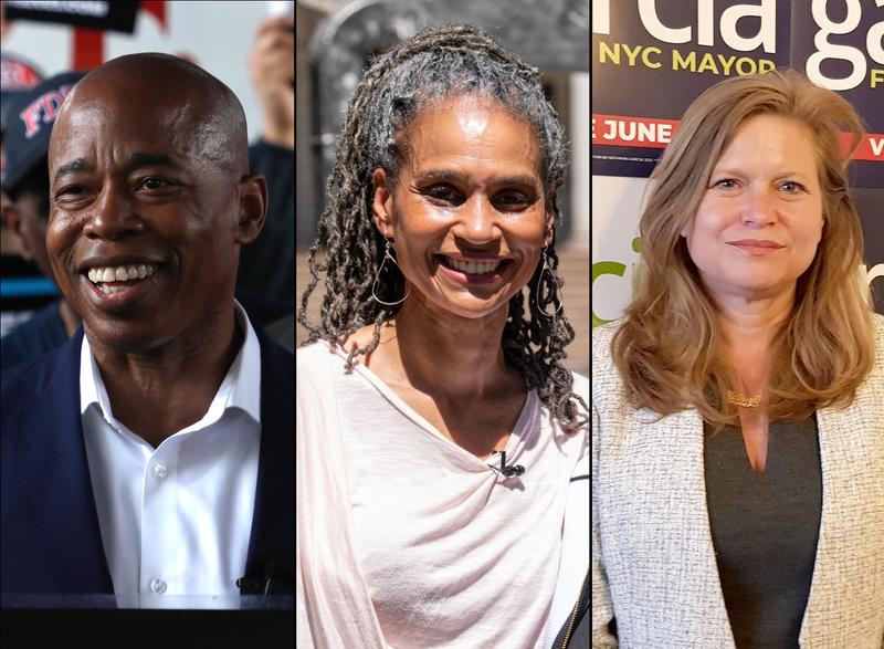 Polls: Adams leads NYC primary race ahead of Wiley, Garcia