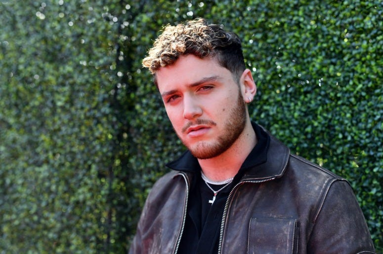 Bazzi attends the 2019 MTV Movie and TV Awards