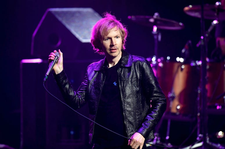 Beck performs during the 5th Annual Light Up The Blues Concert