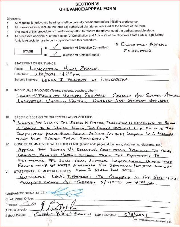 Bennett Petition