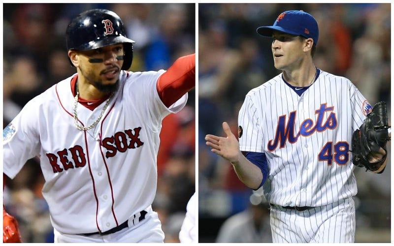 68ac337b Mookie Betts' $20 Million, Jacob deGrom's $17 Million Set MLB Salary Records