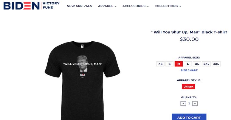Biden shirts