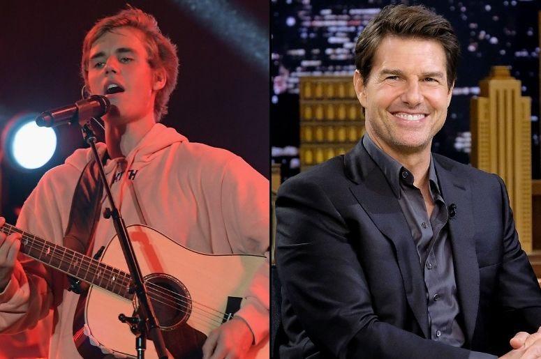 Justin Bieber x Tom Cruise