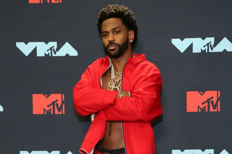Big Sean poses in the Press Room during the 2019 MTV Video Music Awards
