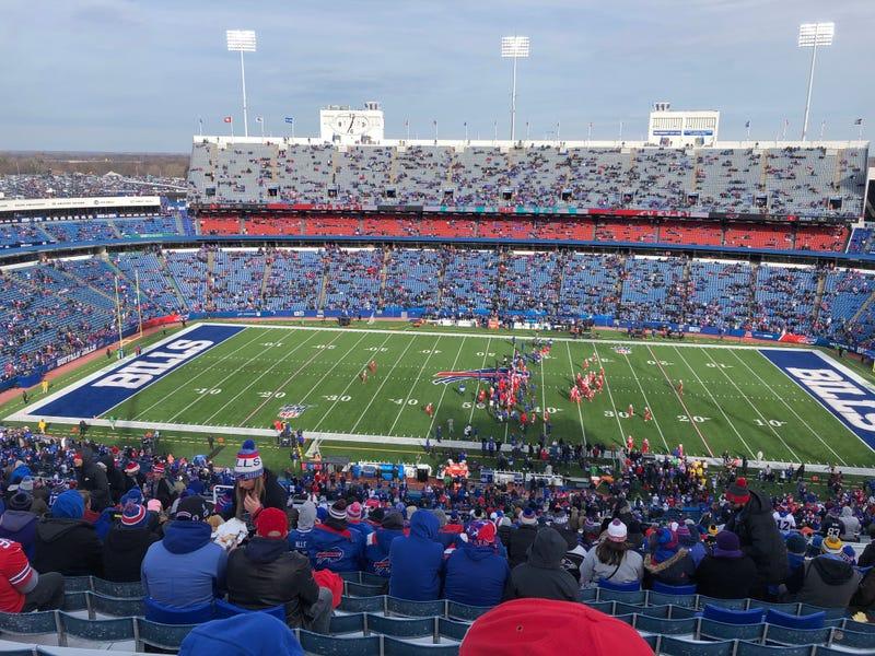 Bills Stadium. December 8, 2019