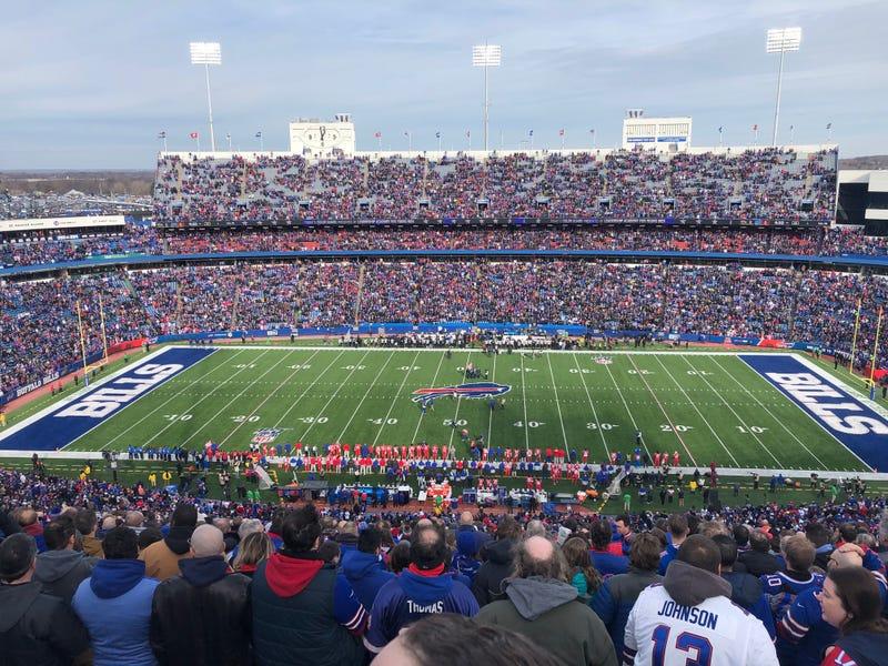 Buffalo Bills vs. Baltimore Ravens. December 8, 2019