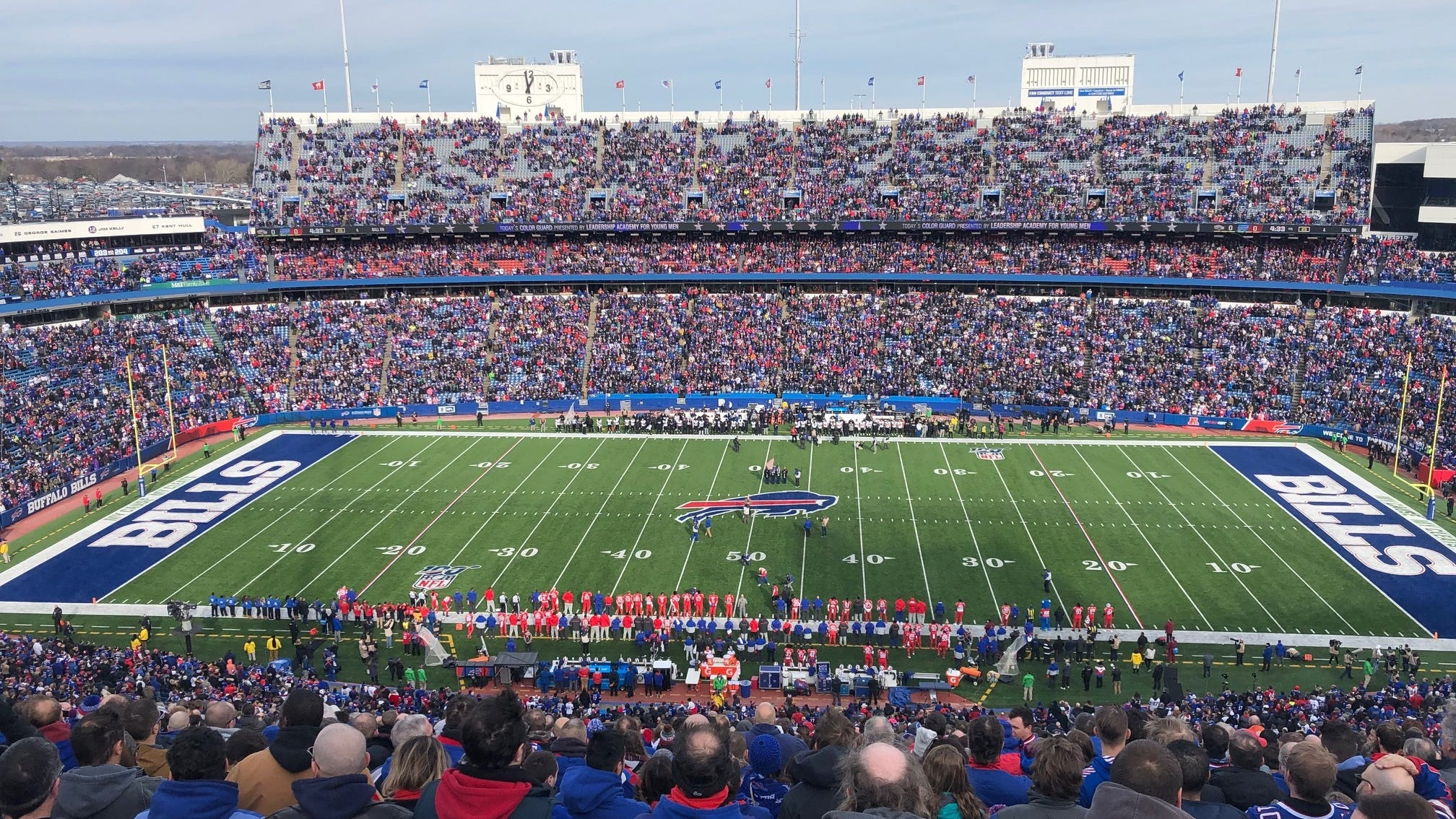 Report: Legends to rep for new Bills stadium