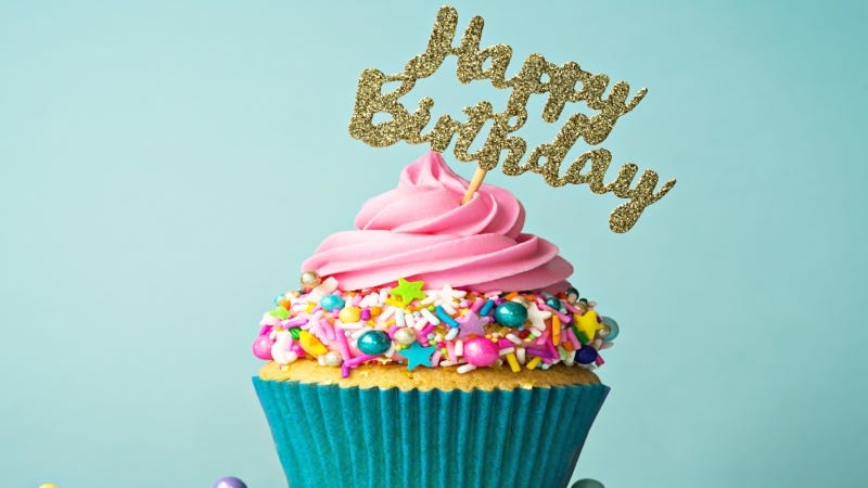 Happy Birthday Cupcake Getty Images