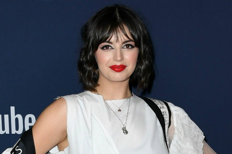 Rebecca Black attends the 9th Annual Streamy Awards at The Beverly Hilton Hotel