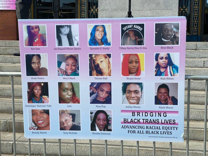 SF Mayor London Breed speaks at Black Trans Lives Matter rally