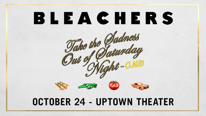 ALT 965 Presents: Bleachers