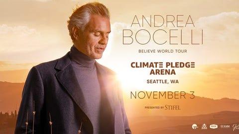 Andrea Bocelli - Believe World Tour