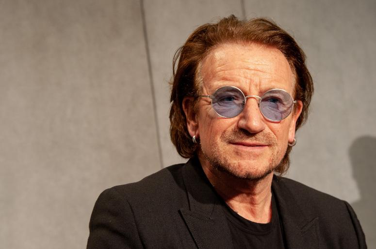"Bono Reveals Recent ""Brush with Mortality,</p>                     </div>   <!--bof Product URL --> <!--eof Product URL --> <!--bof Quantity Discounts table --> <!--eof Quantity Discounts table --> </div>                        </dd> <dt class="