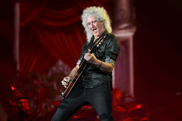 Brian May of Queen performs onstage during the 2019 Global Citizen Festival