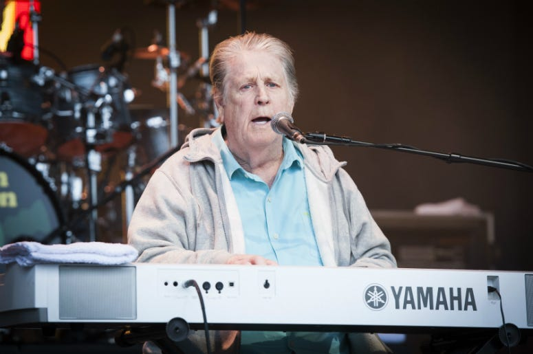 Brian Wilson performs Pet Sounds live at Camp Bestival 2017
